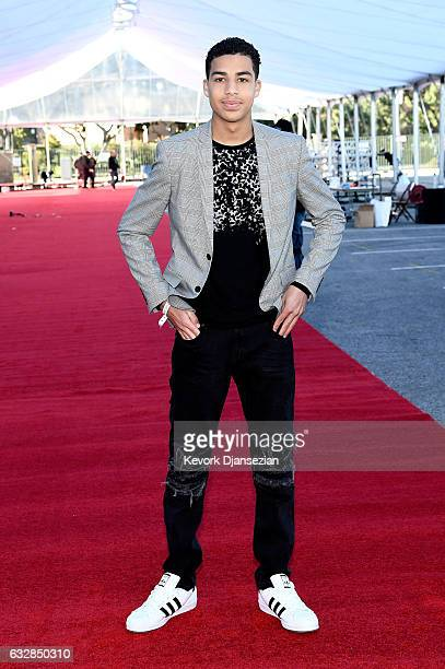 Actor Marcus Scribner attends the Red Carpet RollOut Ceremony BTS during The 23rd Annual Screen Actors Guild Awards on January 27 2017 in Los Angeles...