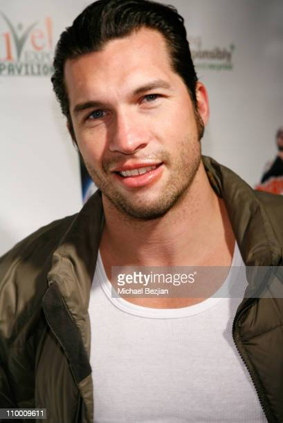 Actor Marcus Shirock at The Green Lodge and Skype host the Big River Man Premiere Party on January 16 2009 in Park City Utah