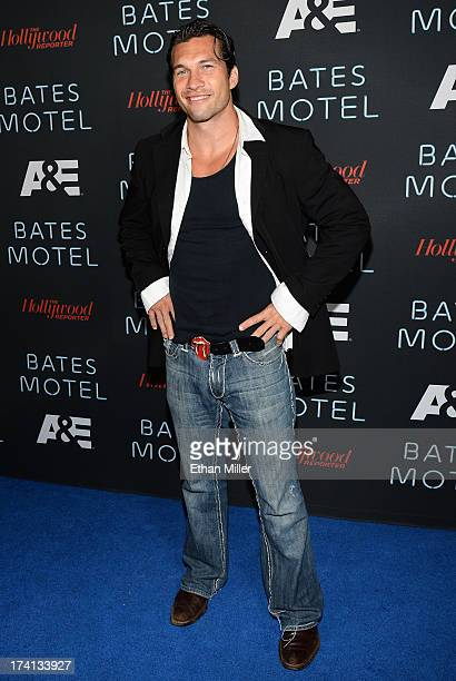 Actor Marcus Shirock attends AE's Bates Motel party during ComicCon International 2013 at Gang Kitchen on July 20 2013 in San Diego California