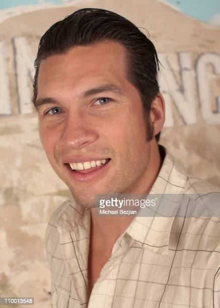 Actor Marcus Shirock attends the Skype And Earth Friendly Products Host Inauguration Viewing Party at the Green Lodge on January 20 2009 in Park City...