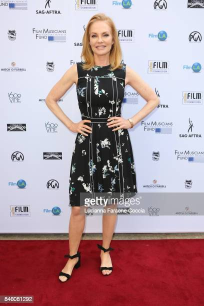 Actor Marg Helgenberger attends the 5th annual Made In Hollywood Honors For Television at 1600 Vine on September 12 2017 in Hollywood California
