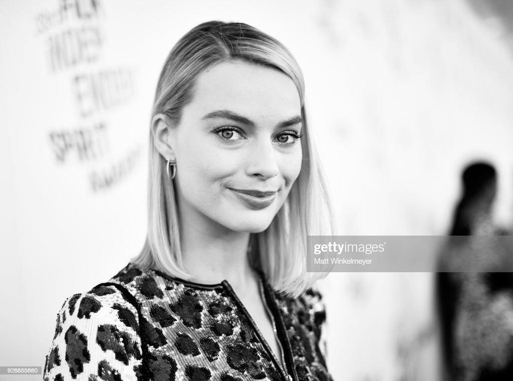 Actor Margot Robbie attends the 2018 Film Independent Spirit Awards on March 3, 2018 in Santa Monica, California.