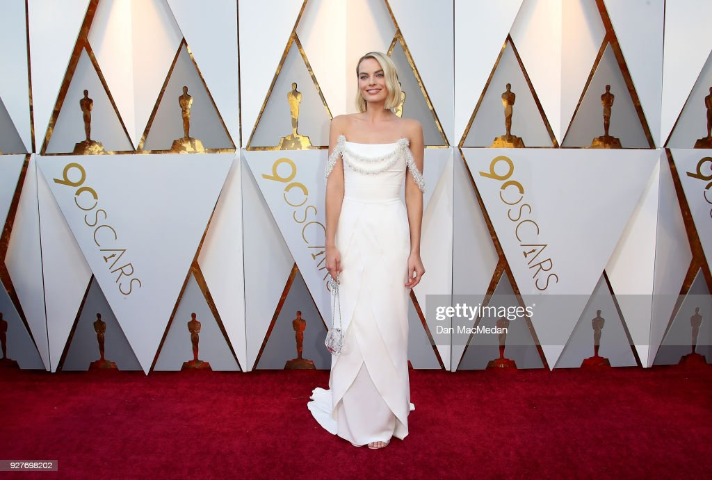 Actor Margot Robbie attends the 90th Annual Academy Awards at Hollywood & Highland Center on March 4, 2018 in Hollywood, California.