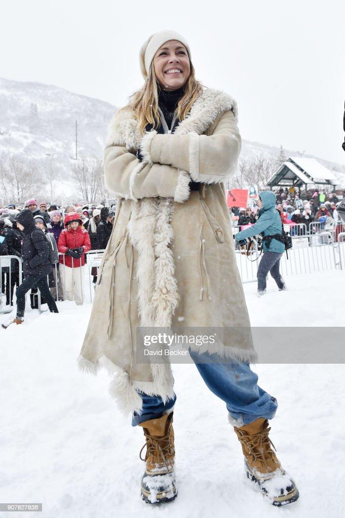 Actor Maria Bello attends Killer Creativity sponsored by BET at Buona Vita on January 20, 2018 in Park City, Utah.