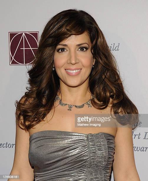 Actor Maria CanalsBarrera arrives at The 15th Annual Art Directors Guild Awards held at The Beverly Hilton hotel on February 5 2011 in Beverly Hills...