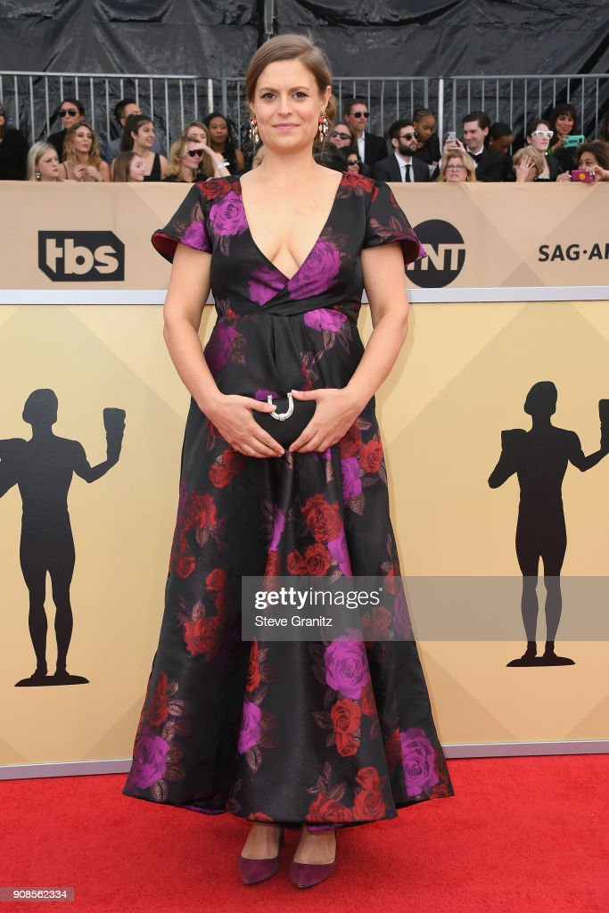 Actor Marianna Palka attends the 24th Annual Screen Actors Guild Awards at The Shrine Auditorium on January 21, 2018 in Los Angeles, California.