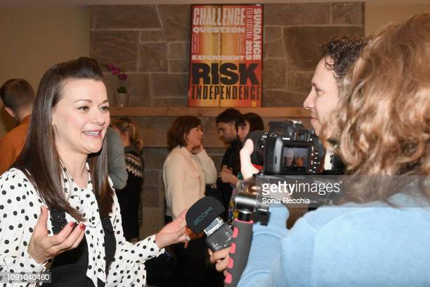 Actor Maribeth Monroe of 'Bootstrapped' attends the Indie Episodic Program 1 during the 2019 Sundance Film Festival at Prospector Square Theatre on...