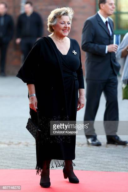 Actor Marie Luise Marjan poses during the Steiger Award at Coal Mine Hansemann 'Alte Kaue' on March 25 2017 in Dortmund Germany