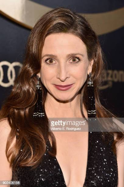 Actor Marin Hinkle attends Amazon Studios' Golden Globes Celebration at The Beverly Hilton Hotel on January 7 2018 in Beverly Hills California