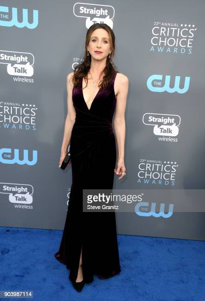 Actor Marin Hinkle attends The 23rd Annual Critics' Choice Awards at Barker Hangar on January 11 2018 in Santa Monica California