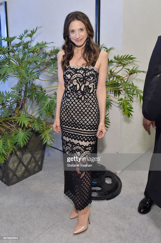 Actor Marin Hinkle attends the Costume Designers Guild Awards at The Beverly Hilton Hotel on February 20, 2018 in Beverly Hills, California.