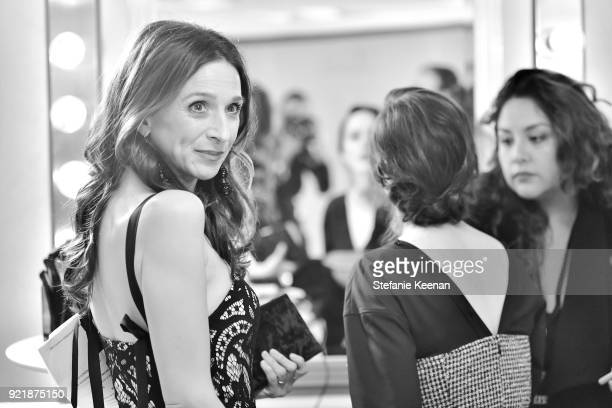 Actor Marin Hinkle attends the Costume Designers Guild Awards at The Beverly Hilton Hotel on February 20 2018 in Beverly Hills California