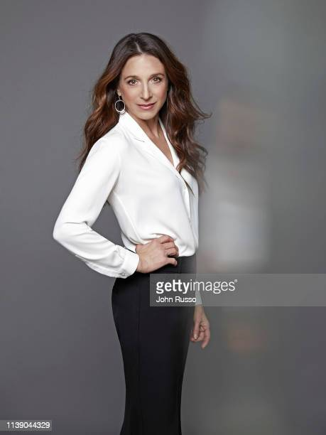 Actor Marin Hinkle is photographed for Emmy magazine on January 18 2019 in Los Angeles California
