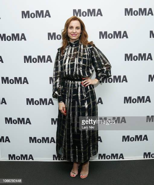 Actor Marina de Tavira attends MoMA's Contenders screening of Roma at MoMA Titus One on November 28 2018 in New York City