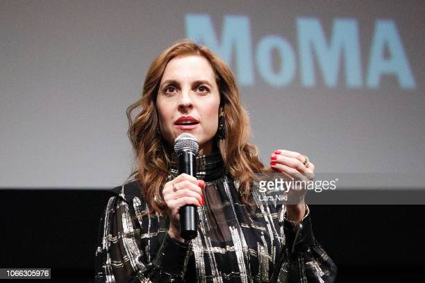 Actor Marina de Tavira on stage during MoMA's Contenders screening of Roma at MoMA Titus One on November 28 2018 in New York City