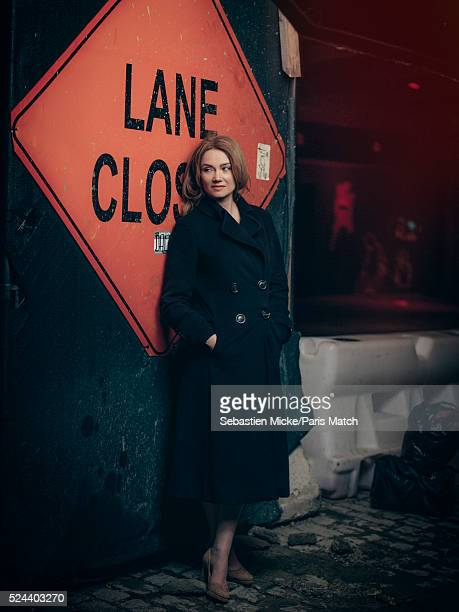 Actor Marine Delterme is photographed for Paris Match on April 14 2016 in New York City