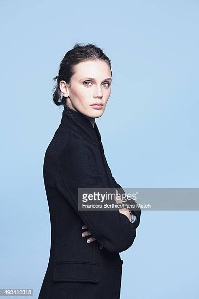 Actor Marine Vacth is photographed for Paris Match on September 29 2015 in Paris France