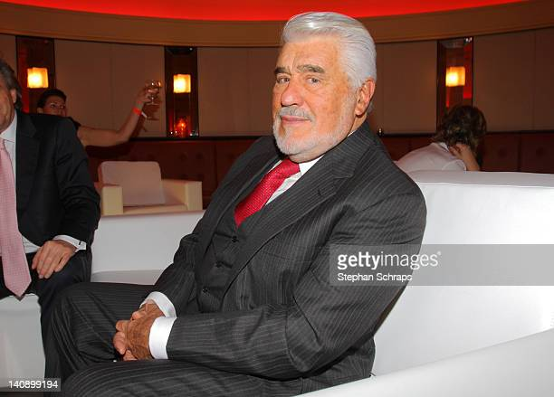 Actor Mario Adorf attends the celebrationparty due to the 100 years existence of SixtCarRental at the 'Goya' Club at Nollendorfplatz on March 7 2012...