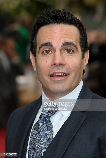 Actor Mario Cantone arrives at the UK premiere of Sex And The City 2 at Odeon Leicester Square on May 27, 2010 in London, England.