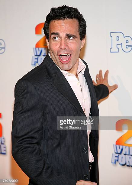 Actor Mario Cantone attends the 25th anniversary celebration of the television game show Wheel Of Fortune at Radio City Music Hall September 27 2007...