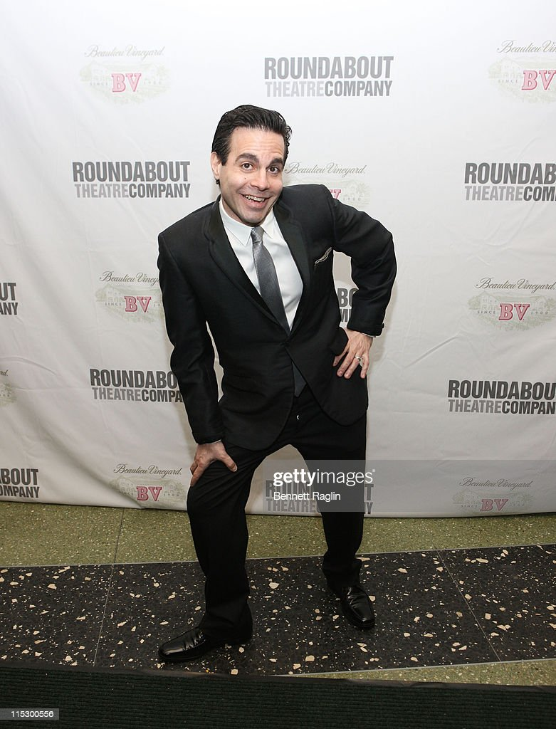 Actor Mario Cantone attends the Roundabout Theatre Company's 2009 Spring Gala at Roseland Ballroom on April 6, 2009 in New York City, New York.