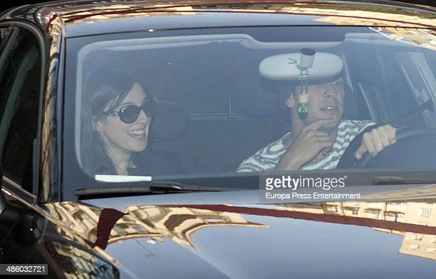 Actor Mario Casas and actress Maria Valverde are seen on March 18 2014 in Madrid Spain