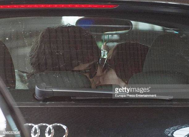 Actor Mario Casas and actress Maria Valverde are seen on March 19 2014 in Madrid Spain