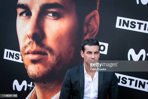 Actor Mario Casas attends Instinto premiere by Movistar at Callao Cinema on May 09 2019 in Madrid Spain