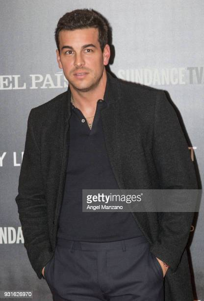 Actor Mario Casas attends 'The Best Day Of My Life' Madrid premiere at Callao cinema on March 13 2018 in Madrid Spain