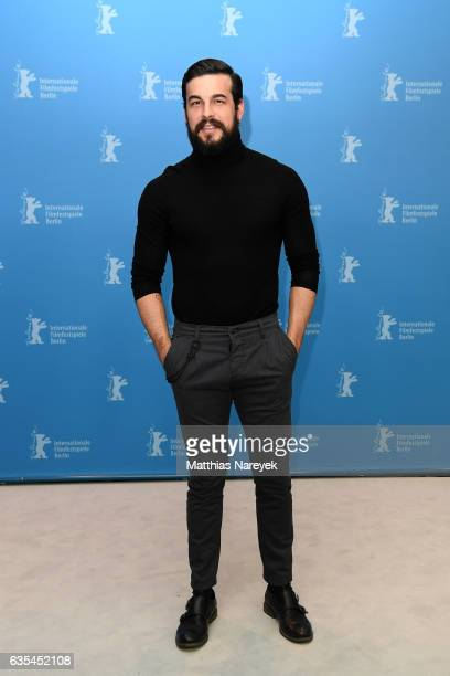 Actor Mario Casas attends the 'The Bar' photo call during the 67th Berlinale International Film Festival Berlin at Grand Hyatt Hotel on February 15...