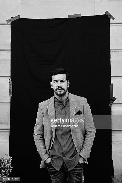 Actor Mario Casas is photographed for Self Assignment on September 18 2015 in San Sebastian Spain