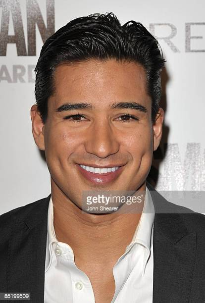 Actor Mario Lopez arrives to Cosmopolitan's 2009 Fun Fearless Awards at SLS Hotel on March 2, 2009 in Beverly Hills, California.