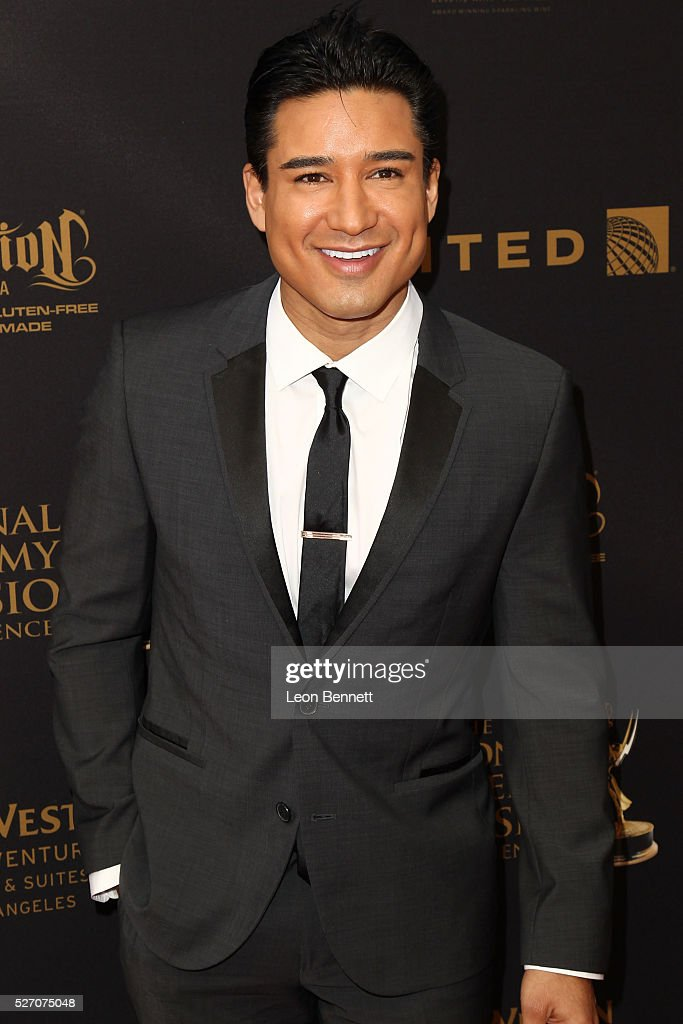 Actor Mario Lopez attends the 2016 Daytime Emmy Awards - Arrivals at Westin Bonaventure Hotel on May 1, 2016 in Los Angeles, California.