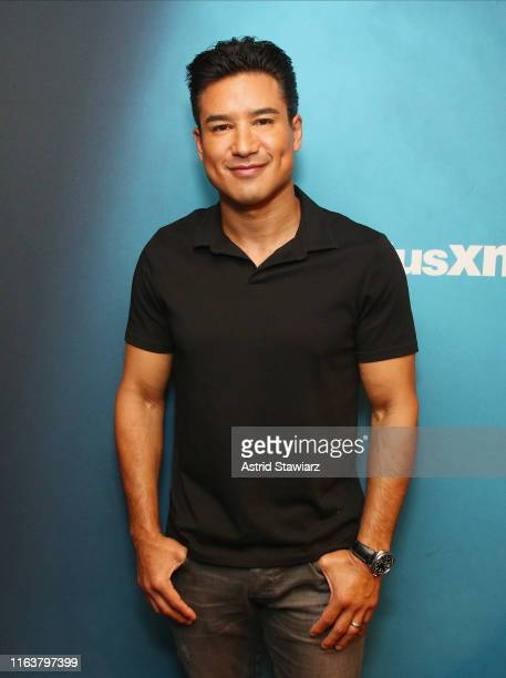 Actor Mario Lopez visits the SiriusXM Studios on July 23 2019 in New York City