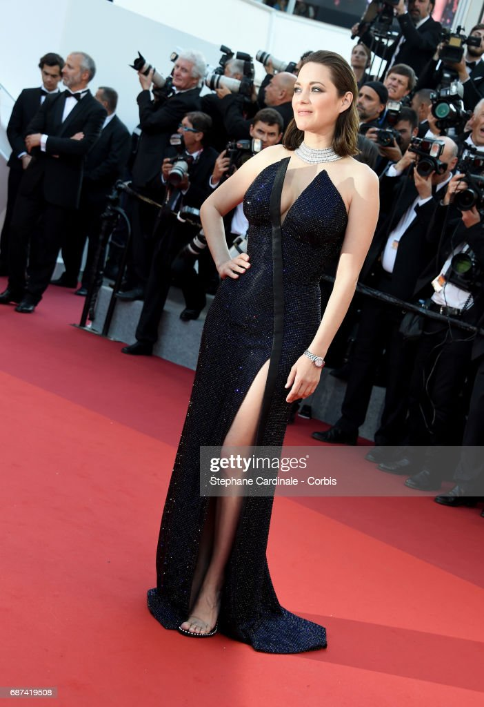 Actor Marion Cotillard attends the 70th Anniversary of the 70th annual Cannes Film Festival at Palais des Festivals on May 23, 2017 in Cannes, France.