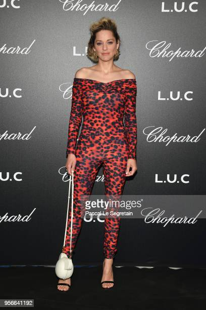 Actor Marion Cotillard attends the Chopard Gentleman's Evening at Hotel Martinez on May 9 2018 in Cannes France