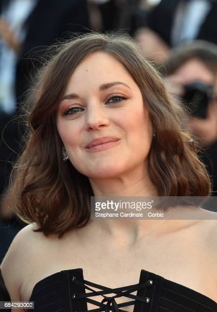 Actor Marion Cotillard attends the Ismael's Ghosts screening and Opening Gala during the 70th annual Cannes Film Festival at Palais des Festivals on...