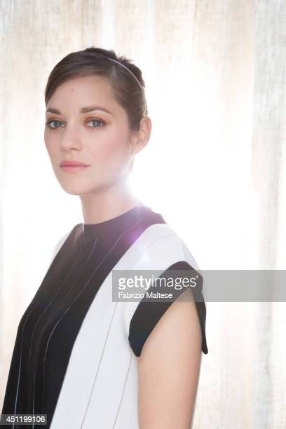 Actor Marion Cotillard is photographed for the Hollywood Reporter in Cannes France