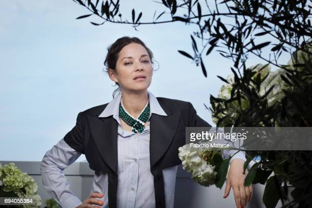 Actor Marion Cotillard is photographed for the Hollywood Reporter on May 18 2017 in Cannes France