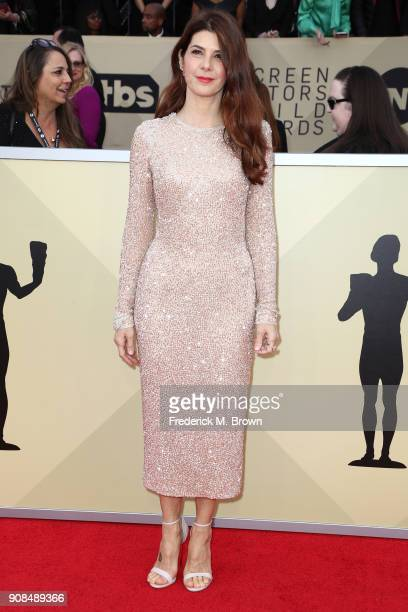 Actor Marisa Tomei attends the 24th Annual Screen Actors Guild Awards at The Shrine Auditorium on January 21 2018 in Los Angeles California 27522_017
