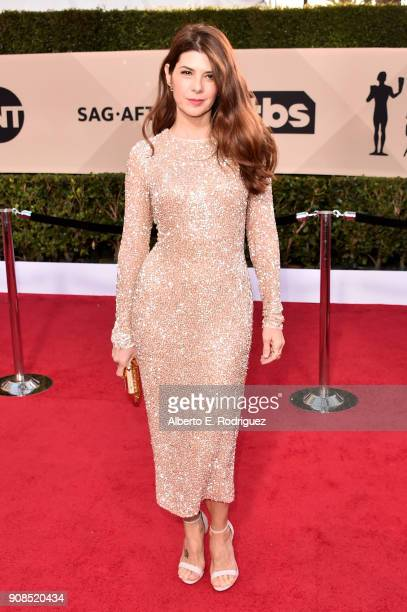 Actor Marisa Tomei attends the 24th Annual Screen Actors Guild Awards at The Shrine Auditorium on January 21 2018 in Los Angeles California 27522_006