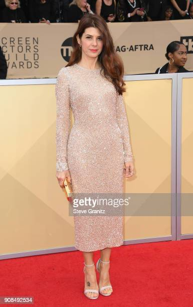 Actor Marisa Tomei attends the 24th Annual Screen Actors Guild Awards at The Shrine Auditorium on January 21 2018 in Los Angeles California