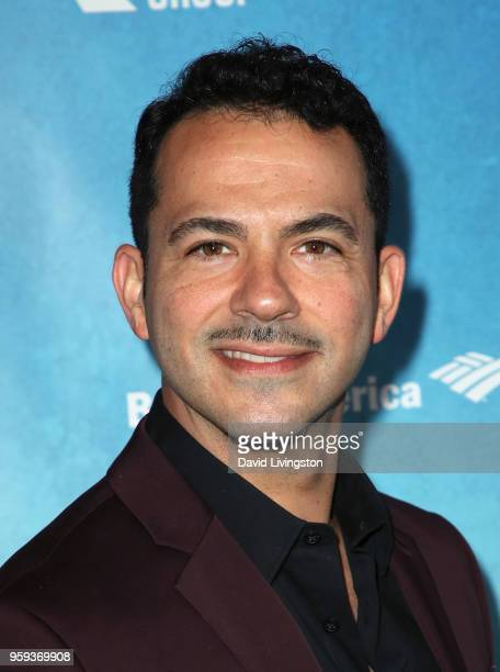 Actor Mark Anthony Petrucelli attends the opening night of 'Soft Power' presented by the Center Theatre Group at the Ahmanson Theatre on May 16 2018...