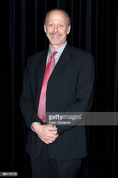 Actor Mark Blum poses at the Baruch Performing Arts Center on April 12 2010 in New York City