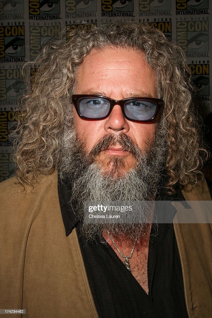 Actor Mark Boone Junior attends the 'Sons of Anarchy' press line during day 4 of Comic-Con International on July 21, 2013 in San Diego, California.