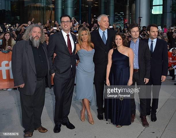 Actor Mark Boone Junior writer/director Daniel Schechter actress/producer Jennifer Aniston actor Tim Robbins producer Liz Destro Jordan Kesslerand...