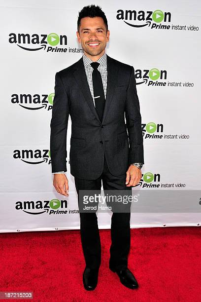 Actor Mark Consuelos arrives at Amazoncom red carpet launch party for Alpha House and Betas Los Angeles Premieres at Boulevard3 on November 6 2013 in...