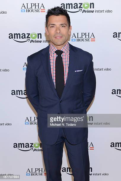 Actor Mark Consuelos attends Amazon Studios Premiere Screening for 'Alpha House' on November 11 2013 in New York City