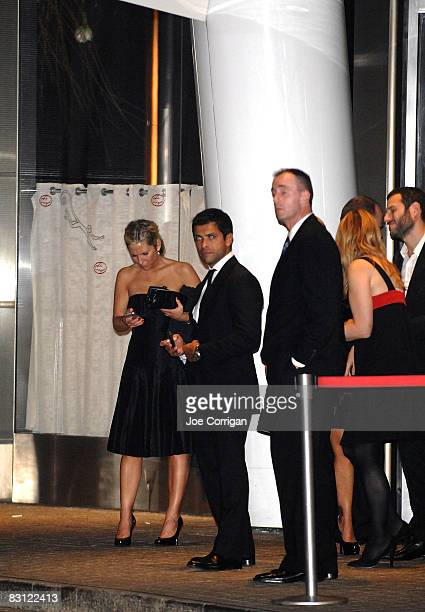Actor Mark Consuelos attends the wedding of Howard Stern and Beth Ostrosky at Le Cirque on October 3 2008 in New York City