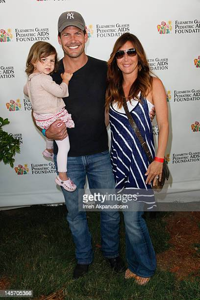 Actor Mark Deklin and family attend the 23rd Annual Time for Heroes Celebrity Picnic to benefit the Elizabeth Glaser Pediatric AIDS Foundation at...